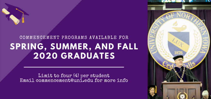 Commencement Programs Available