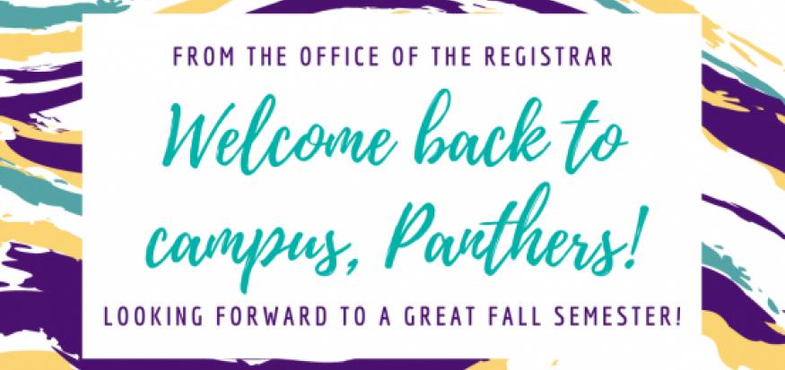Contact Us at registrar@uni.edu